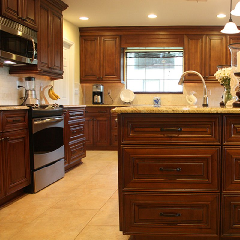 Kitchen cabinets wholesale mocha cabinets for Kitchen cabinets hialeah