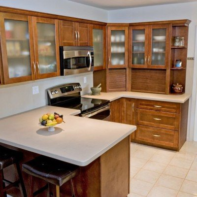 Miami Home Kitchen Remodeling, Café Shaker Cabinets