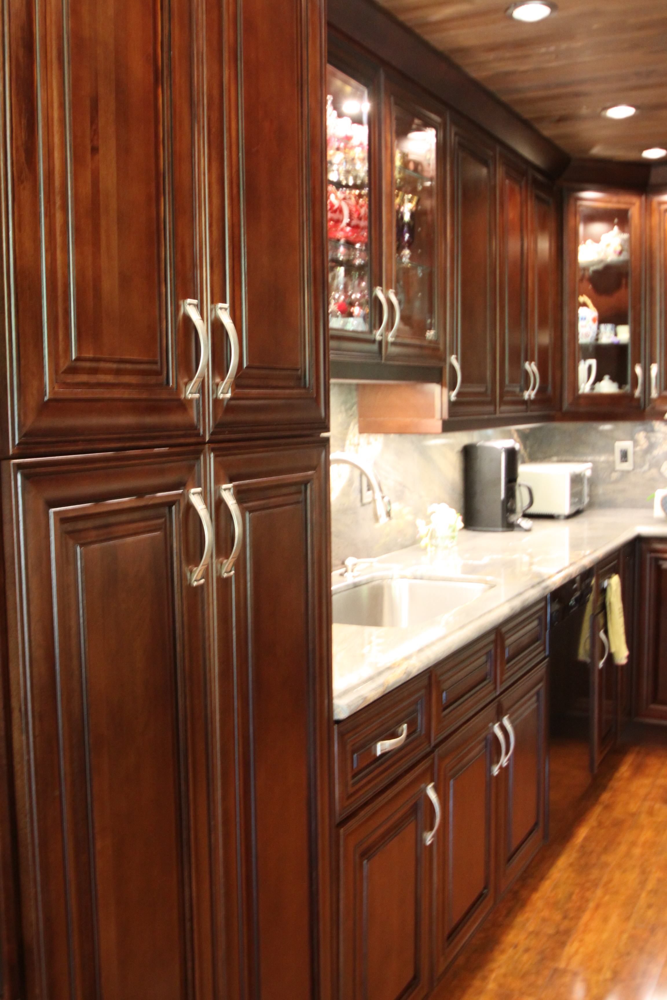 the best 28 images of mocha kitchen cabinets