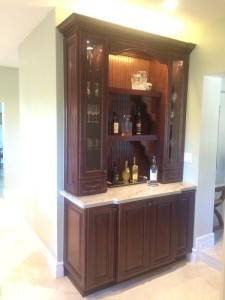 Mocha Cabinets - Kitchen Cabinet Installation