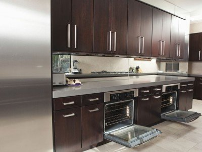 Espresso Kitchen Cabinets Miami