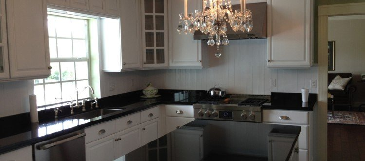 Give Your Kitchen A Warm And Cozy Feel With These Cabinets And Countertops!  Affordable Kitchen Renovations