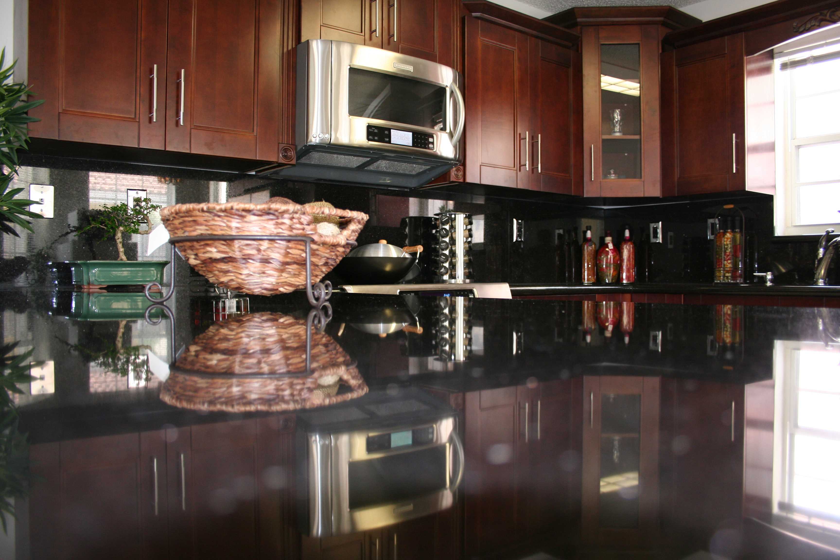 lovely kitchens after cathedral rajasweetshouston cherry pic marvellous our kitchen with com client are of used cabinet cabinets