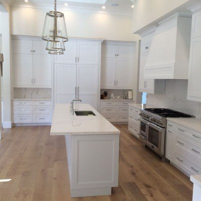 All White Kitchen Remodel