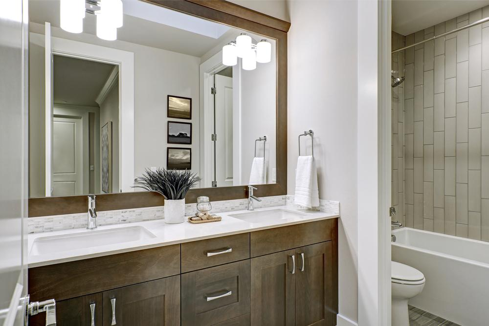 to change your master bathroom vanities we can help meet your budget