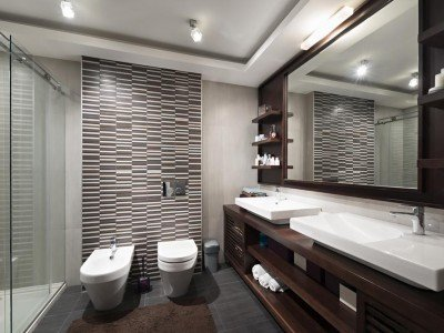 Affordable Modern Bathroom