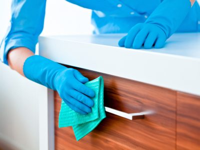DIY Kitchen Cabinet Cleaning