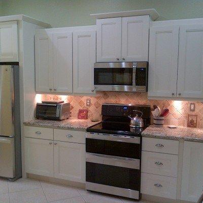 Off White cabinets , Kitchen Units