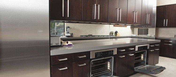 Espresso Kitchen Cabinets Miami