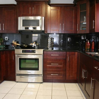 Cherry Cabinets, Cabinet Renovations in Miami