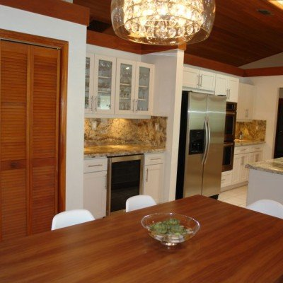Solid Wood Cabinetry in Pinecrest
