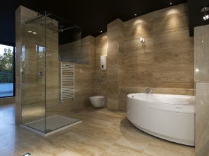 Bathroom Remodeling , Modern Bathroom Vanity in Miami Lakes