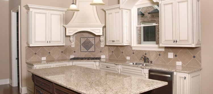 Kitchen Remodeling in Pinecrest , Wood Kitchen Cabinets , Granite Counter Installation
