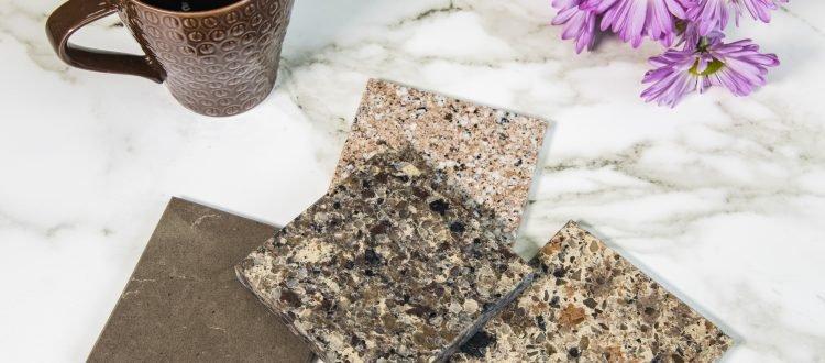quartz and granite countertops