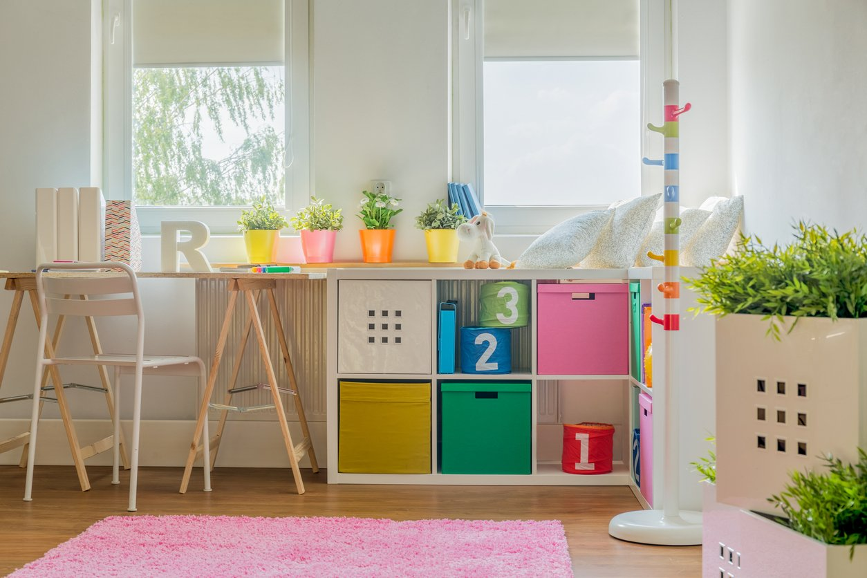 Picture of colorful decoration in kids room