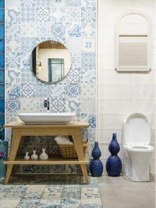 Modern Bathroom Vanity in Miami Shores