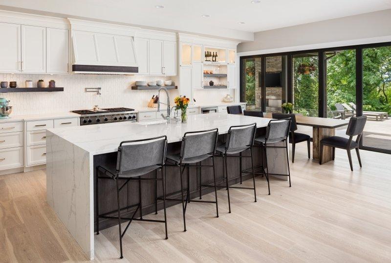 Modern Kitchen Design In Miami Kitchen Island Ideas Stone Int L